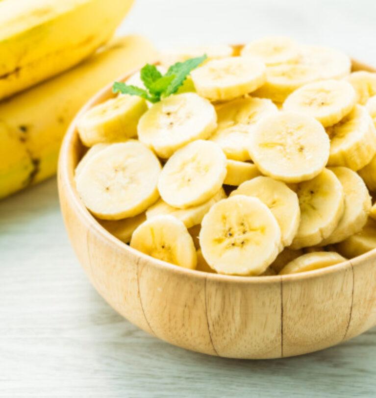 Banane pentru o piele fină